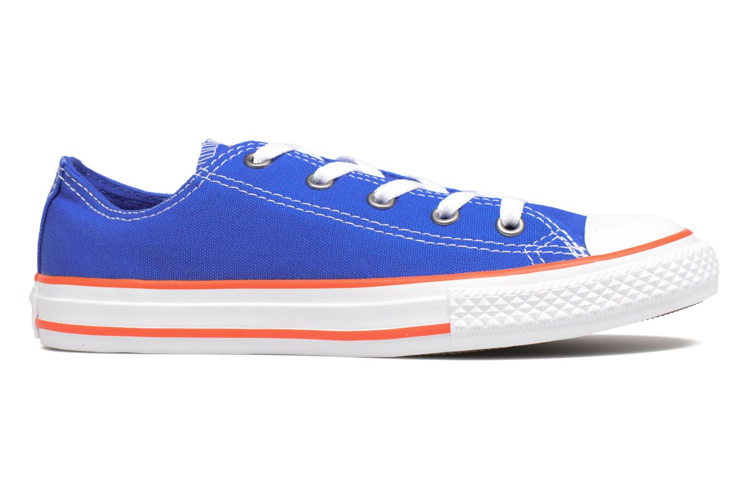 Sneakers Converse Chuck Taylor All Star Ox Seasonal Color Azzurro immagine posteriore